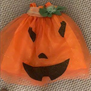 Pottery Barn pumpkin Halloween costume